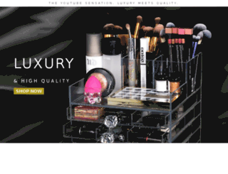 lucysbeautybox.com screenshot