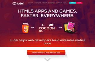 ludei.com screenshot