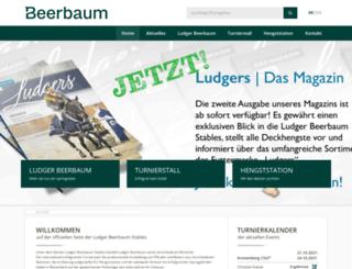 ludger-beerbaum.de screenshot