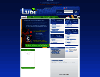 ludi.com screenshot