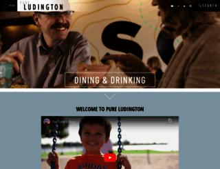 ludingtonarea.com screenshot