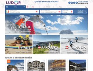 ludor.cz screenshot