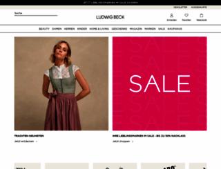 ludwigbeck.de screenshot