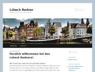 luebeck-redner.de screenshot