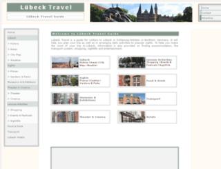 luebecktravel.com screenshot