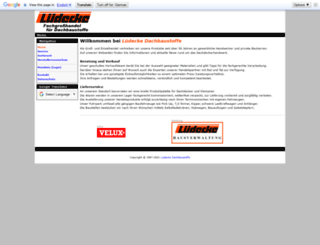 luedecke.com screenshot