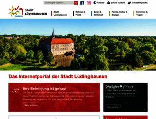 luedinghausen.de screenshot