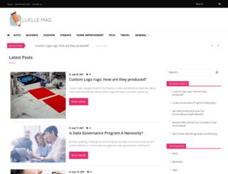 luellemag.com screenshot