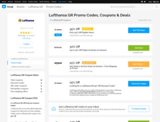 lufthansa.bluepromocode.com screenshot