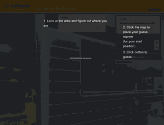 lufthansa.geoguessr.com screenshot