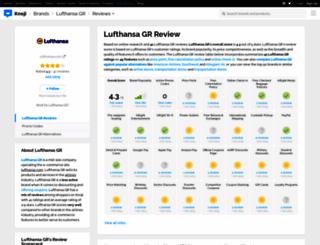 lufthansa.knoji.com screenshot