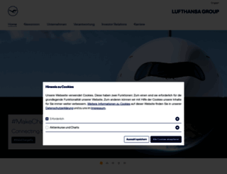 lufthansagroup.com screenshot