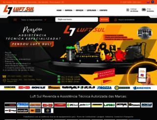 luftsul.com.br screenshot
