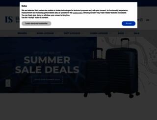 luggagesuperstore.co.uk screenshot