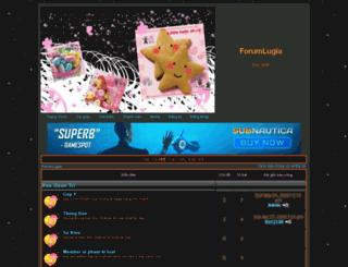 lugia.5forum.net screenshot