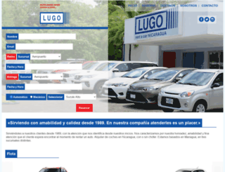 lugorentacar.com.ni screenshot