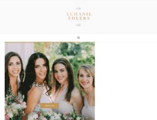 luhanieehlers.co.za screenshot