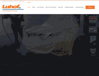 luhof.de screenshot