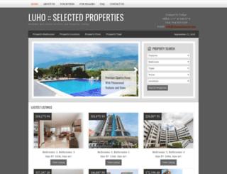 luhorealestate.com screenshot