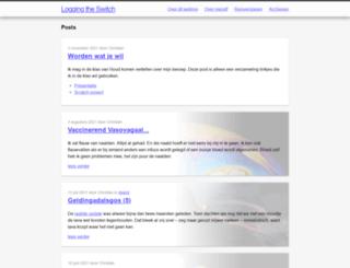 luijten.org screenshot