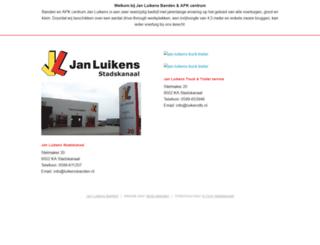luikensbanden.nl screenshot