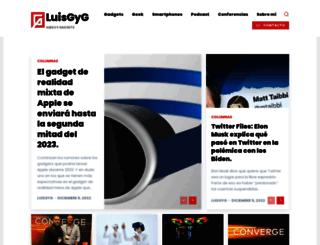 luisgyg.com screenshot