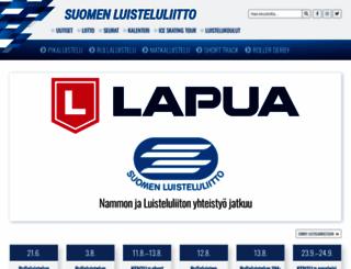 luisteluliitto.fi screenshot