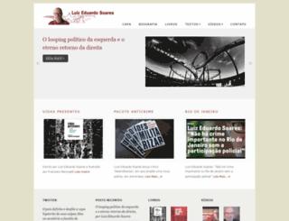 luizeduardosoares.com screenshot