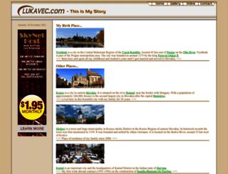 lukavec.com screenshot