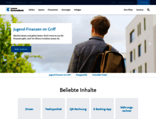 lukb.ch screenshot