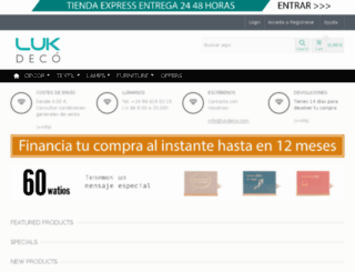 lukdeco.com screenshot
