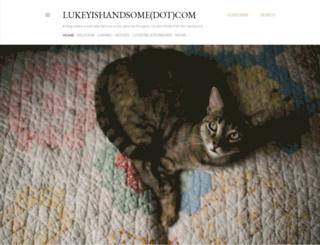 lukeyishandsome.com screenshot