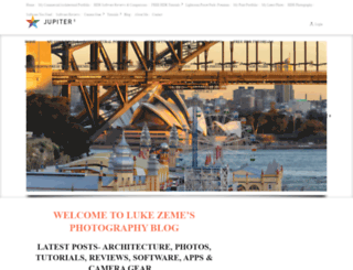 lukezeme.com screenshot