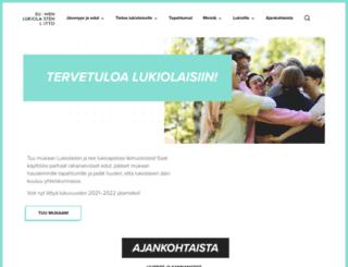 lukio.fi screenshot