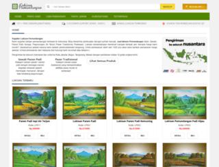lukisanpemandangan.com screenshot