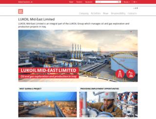 lukoil-overseas.com screenshot