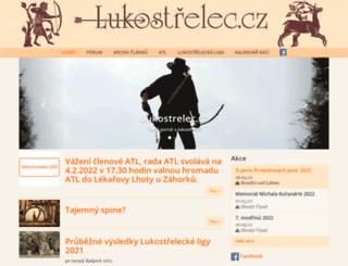 lukostrelec.cz screenshot