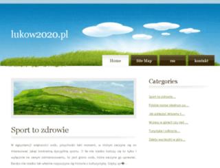 lukow2020.pl screenshot