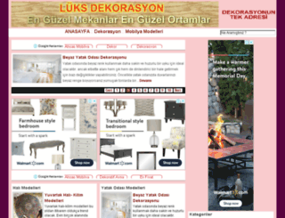 luksdekorasyon.com screenshot