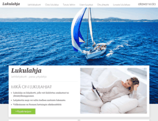lukulahja.fi screenshot
