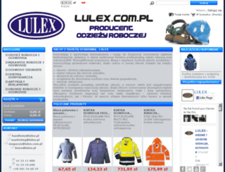 lulex.com.pl screenshot