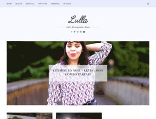 lullablog.net screenshot