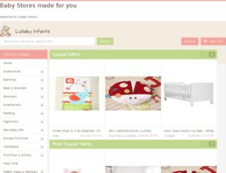 lullabyinfants.com screenshot