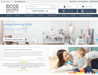 lullabypaints.com screenshot