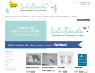 luluboudu.com screenshot