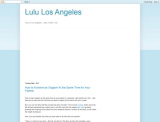 luluinlosangeles.blogspot.com screenshot