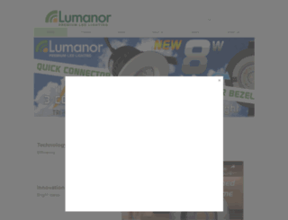 lumanor.com screenshot