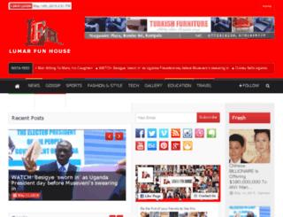 lumarfunhouse.com screenshot
