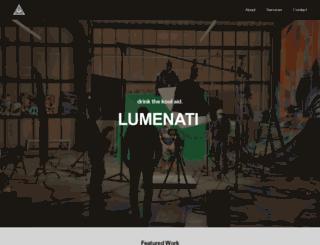 lumenati.co screenshot