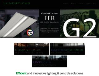 lumenfocus.com screenshot